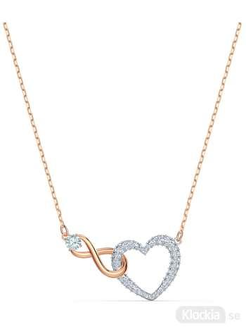 swarovski halsband hjärta
